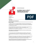 Vraag 2015-05-01 SP Over Beleid Uitkeringen Participatiewet (1)