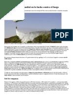 Andalucía, Líder Mundial en La Lucha Contra El Fuego