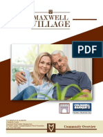 Maxwell Village Community Overview Packet