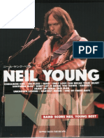 Neil Young - Band Score Neil Young Best  Japan Score