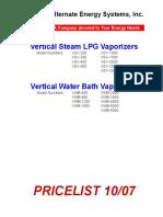 Precio y Elementos Del Vaporizador