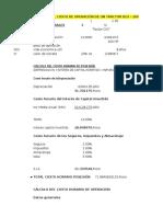 Costos Unitarios Practica 2