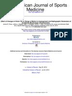 Effect of Pelvic Tilt on Hip ROM in FAI