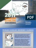 2017 Oregon Problem Gambling Youth Art Calendar