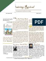 Christian Revival Newsletter Jul/Sep 2016