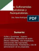 Sulfamidas y Quinolonas