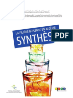 Synthèse Etude de Filière Boissons 2012