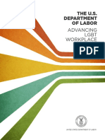 DOL Lgbt Report Advancing LGBT Workplace Rights