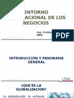 Entorno Internacional de Los Negocios