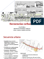 Secuencias Urbanas