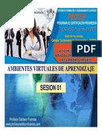 Sesion 01 Tic-01 en El Contexto Educativo -Ambientes Virtuales de Aprendizaje