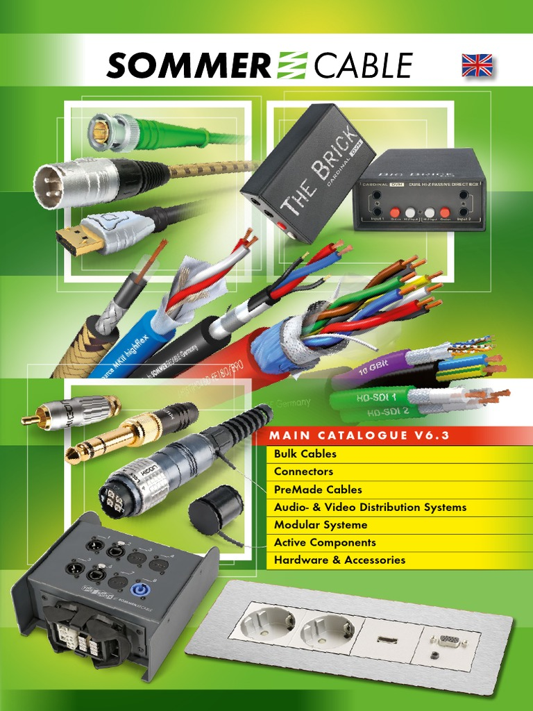 V63 En Pdf Wire Cable Also See Neutrik Jackand Xlr3 Wiring Speciality Audioleads Bulk