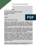 CODIGO PENAL MILIATR COLOMBIANO.docx