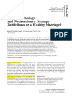 Dovidio-Social Psychology and Neuroscience-Strange Bedfellows or a Healthy Marriage