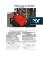coatings and adhesive mixing with process control