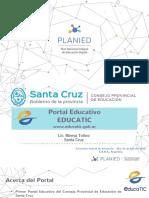 4 - Santa Cruz - Encuentro de Formación -Presentación
