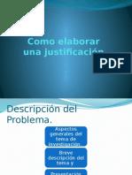 Como Elaborar Una Justificación