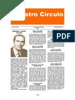 Nuestro Círculo Nro.385 Gregorio J.Lastra
