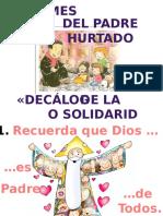 Decalogo de La Solidaridad