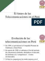 Sesión 04 - El Futuro de Las Telecom en El Perú