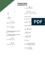 Formulario de Estadística Básica