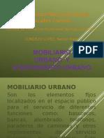 Mobiliario y Equipamiento Urbano