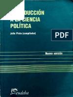 Introduccion a La Ciencia Política
