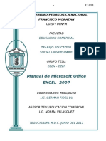 Manual de EXCEL 2007 Eben Ezer
