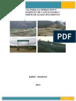 MANUAL DE OPERACION Y MANTENIMIENTO DE CAPTACIONES Y RESERVORIOS DE ALMACENAMIENTOO.docx