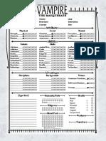 V20 4-Page Antediluvian Interactive