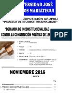 Trabajo Seminario 2 - Proceso de Inconstitucionalidad Constitución 1993- Imprimir