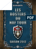 Rosters Naf Tour 2512