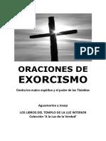 Orações de Exorcismo