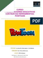 Curso_ Presentaciones Educativas Con Nuevas Herramientaspowtoon
