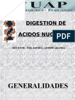 Clase . Metabolismo de Acidos Nucleicos