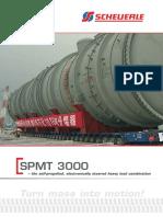 Scheuerle SPMT 3000 IC Brochure