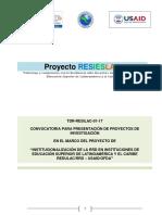 Redhum GT Proyectos de Investigacion REDULAC USAID 20161215 IC 19938 2