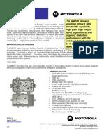 Motorola MB100 Amplifier
