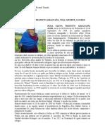Biografía de Transito Amaguaña