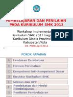 PBM & Penilaian Kur'13 SMK Psmk 2 300314