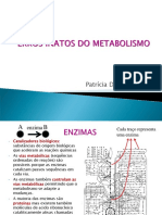 Aula Erros Inatos Do Metabolismo