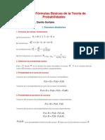 Probabilidades Formulas