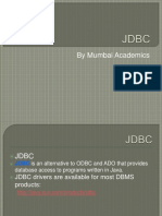 JDBC Mumbai Coaching