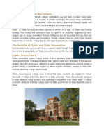 Pros and Cons of the Big Campus