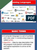 So It Chapter 5 Programming Language