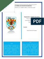"""Capítulo 8 """"La Dirección Escolar y El Liderazgo Para Que Una Organización Aprenda"""""""