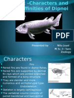 Topic –Characters and Affinities of Dipnoi