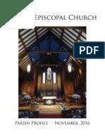 Parish Profile 2016 - 01112017