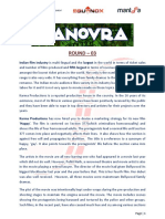 Manovra Round 3