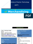 Marketing Activities of Merchandiser